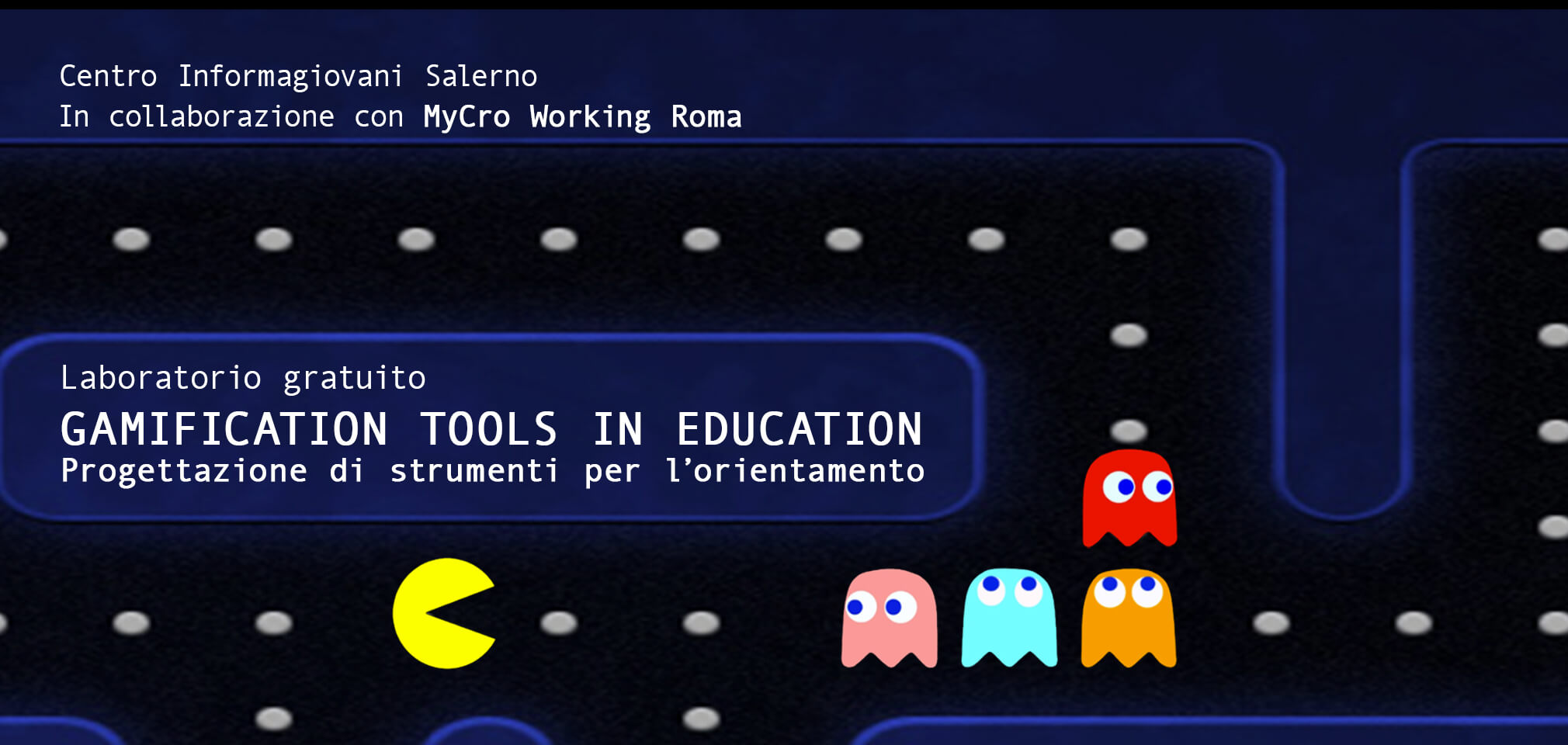 "Laboratorio gratuito ""Gamification tools in education"""